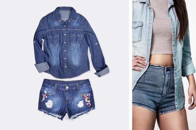Camisa jeans: dicas de como usar e aproveitar sua